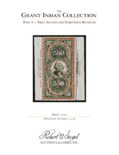 Siegel-Auction-1137-The-Grant-Inman-Collection
