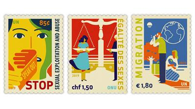 united-nations-2019-definitive-stamps-raise-awareness