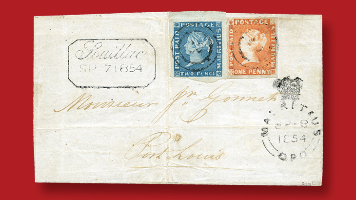 1-penny-orange-2d-blue-queen-victoria-post-paid-issues