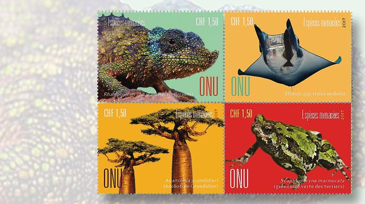 1.50-franc-endangered-species-stamp