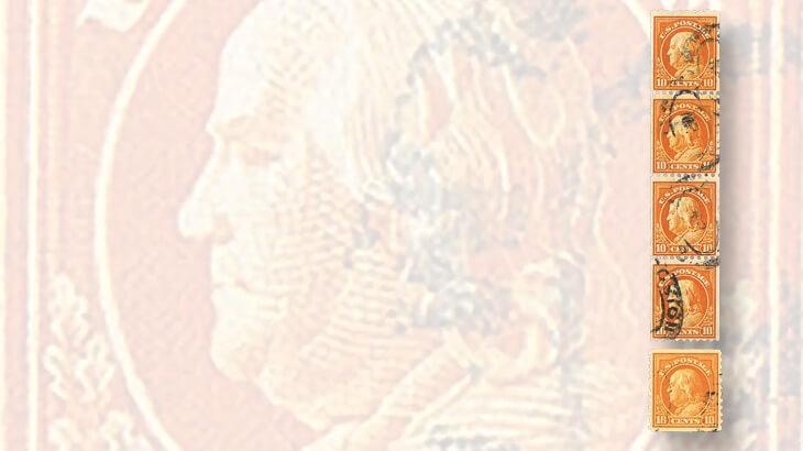 10-cent-franklin-third-bureau-issue