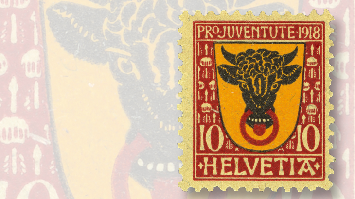 10-centime-semipostal-stamp
