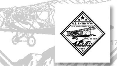 100th-anniversary-wwi-postmark