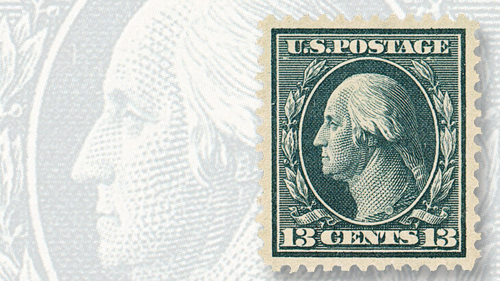 13-cent-washington-definitive-stamp-blue-paper