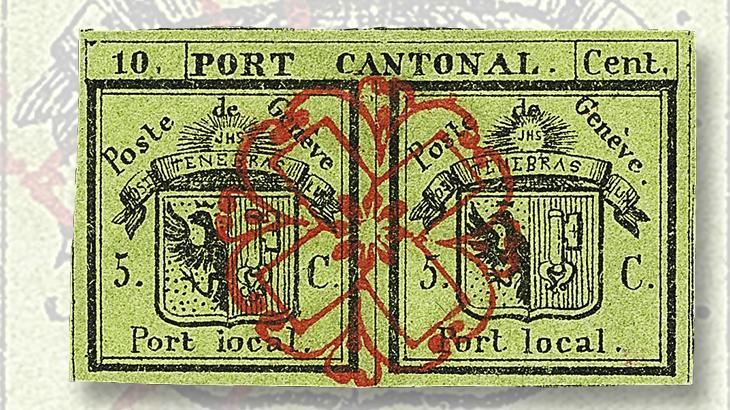 1843-double-geneva-stamp
