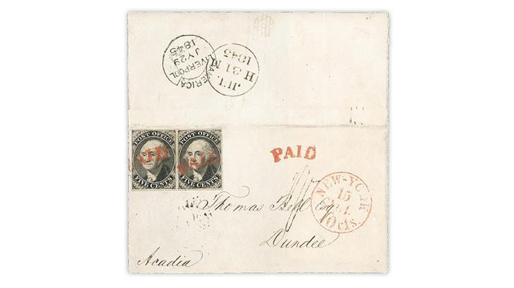 1845-new-york-city-postmasters-provisional-cover-earliest-documented-use
