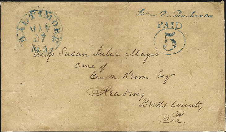 1846-provisional-five-cent-stamped-envelope