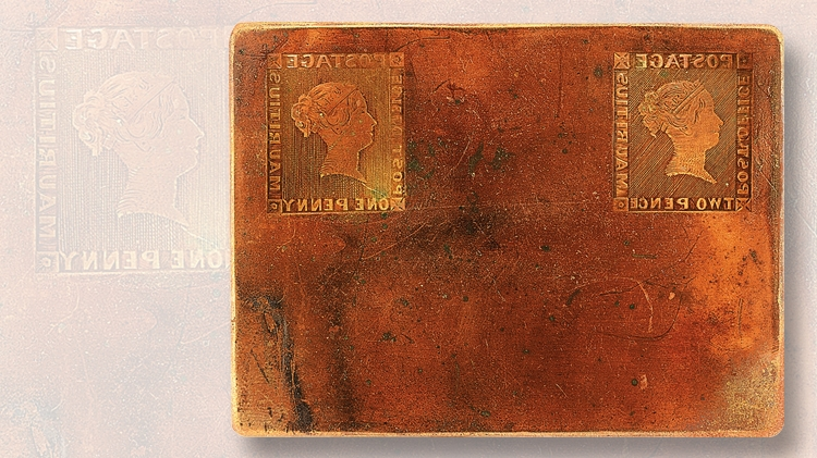 1847-engraved-copper-printing-plate