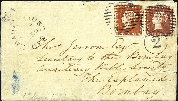 1850-mauritius-bombay-cover