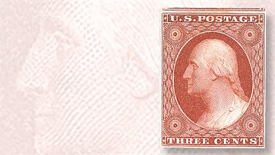 1851-imperforate-orange-brown-george-washington-stamps