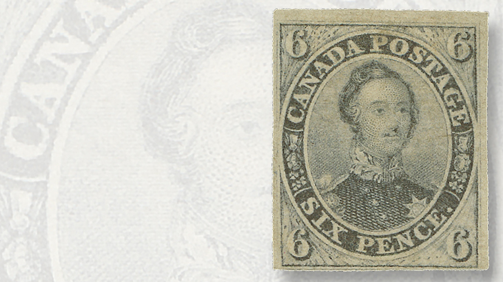 1851-six-penny-prince-albert-stamps-canada