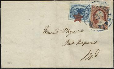 1852-cover-3-cent-washington
