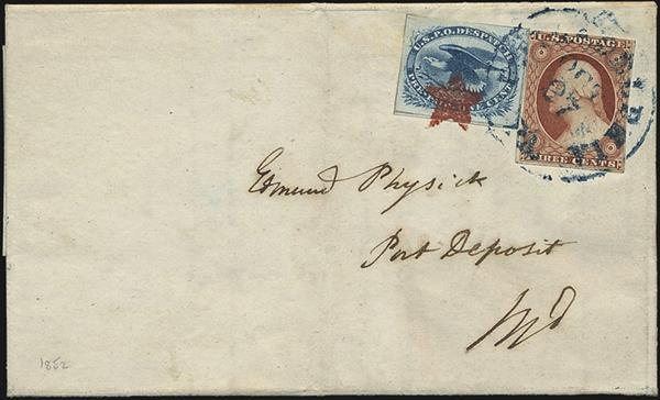 1852-cover-3-cent-washington