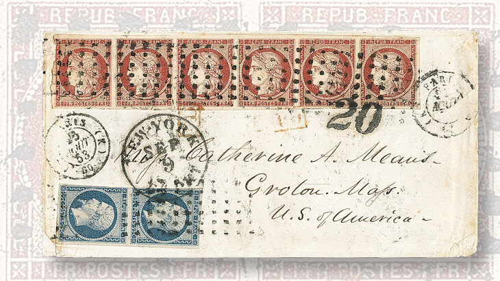 1853-cover-with-1-franc-ceres-stamps
