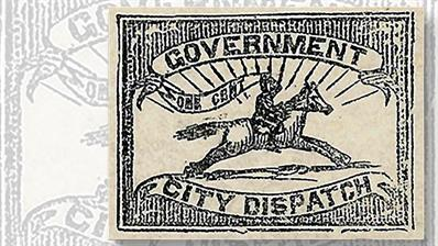 1857-one-cent-black-mounted-letter-carrier-stamp-baltimore-maryland