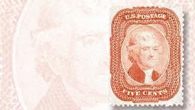 The rare 1923 Benjamin Franklin stamp headlining May 20-21 Rasdale