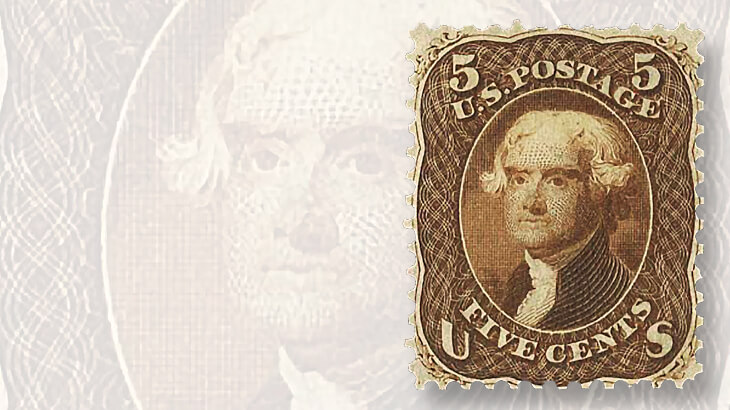 1861-five-cent-jefferson-stamp