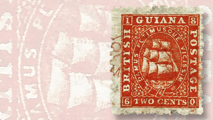 1866-two-cent-british-guiana-blackwall-frigate-stamp