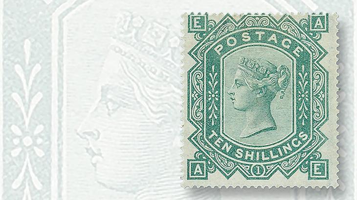1878-ten-shilling-queen-victoria-stamp