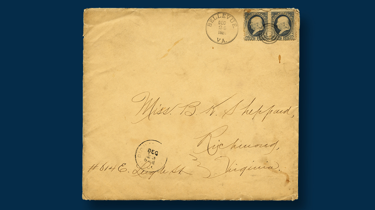 1881-christmas-card-oversized-envelope-two-cent-postage