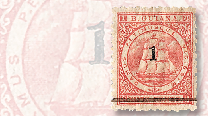 1881-seal-of-colony-british-guiana-forty-eight-cent-stamp