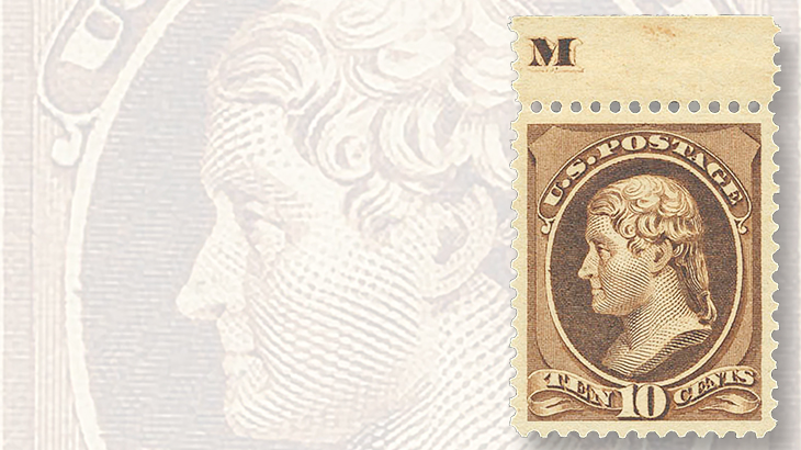 1882-re-engraved-ten-cent-jefferson-bank-note-stamp
