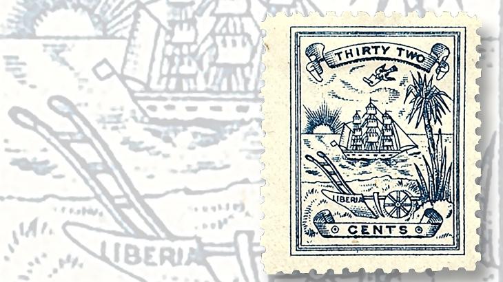 1885-liberia-hand-plow-stamp
