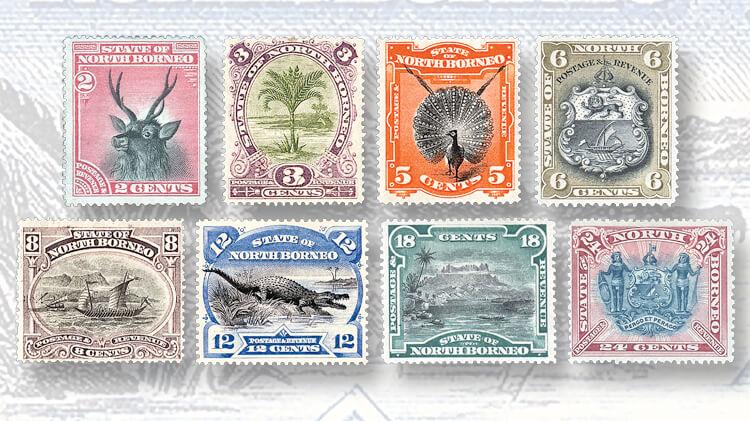 1894-north-borneo-stamps