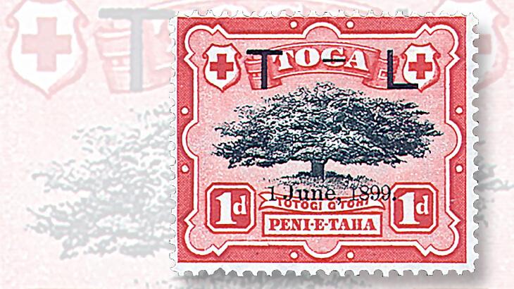 1899-george-tupou-ii-queen-lavinia-wedding-stamp