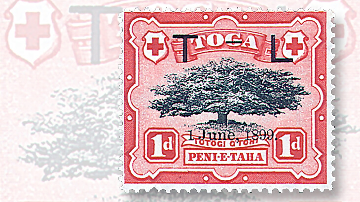 1899-george-tupou-ii-queen-lavinia-wedding-stamp