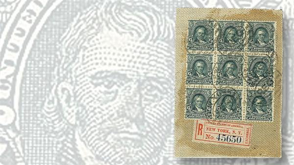 1903-five-dark-green-john-marshall-canvas-piece