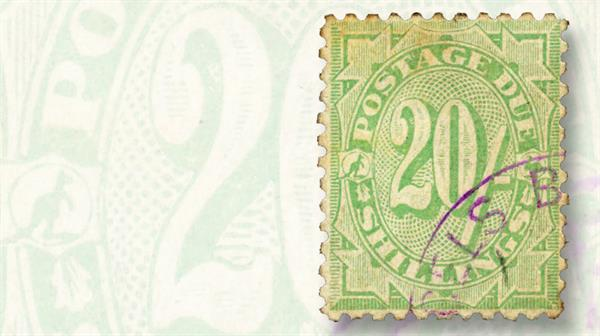 1908-20-shilling-emerald-postage-due-stamp