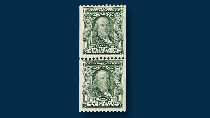 1908-one-cent-green-benjamin-franklin-stamp