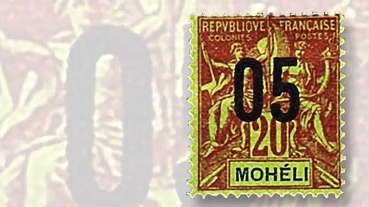 1912-moheli-20c-stamp
