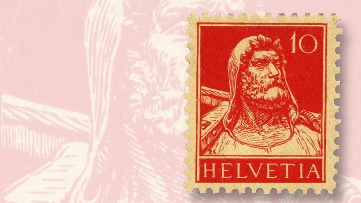 1914-william-tell-10c-stamp