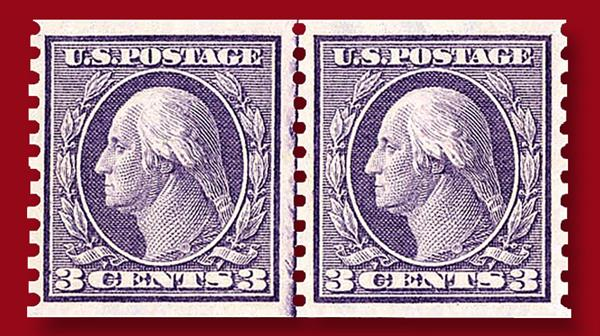1916-three-cent-violet-george-washington-horizontal-rotary-press-coil-stamp