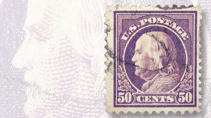 1917-fifty-cent-franklin-stamp
