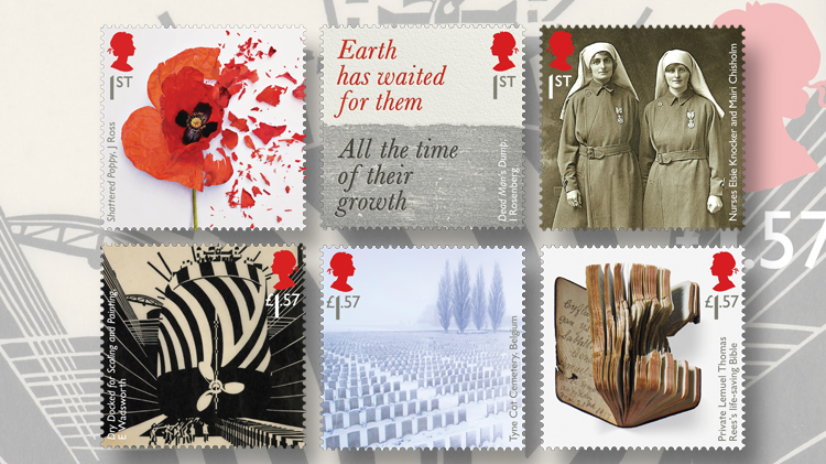 1917-six-nondenominated-first-class-world-war-one-stamps