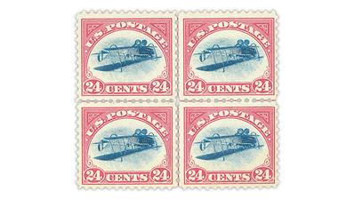 1918-jenny-invert-airmail-error-centerline-block