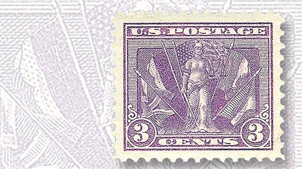 1919-united-states-three-cents-victory-flags-of-the-allies-stamp