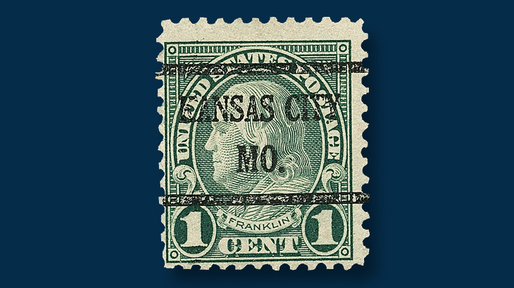 1923-one-cent-green-franklin-stamp