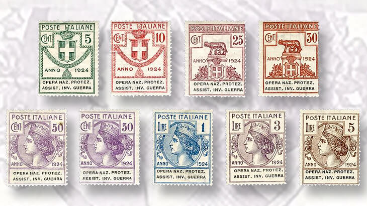 1924-semiofficial-stamps-issued-by-italy