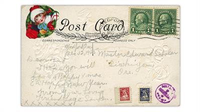 1925-postcard-santa-claus-toy-stamps