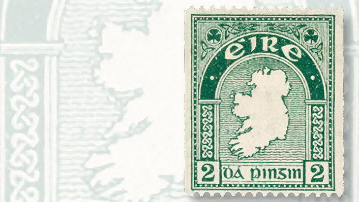 1935-2-penny-coil-stamp-of-ireland