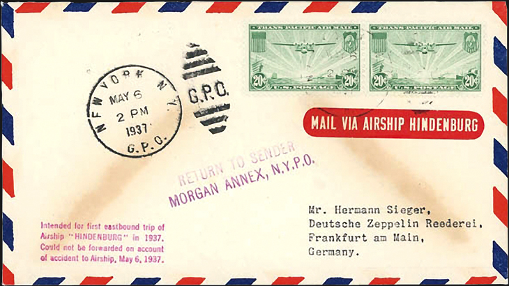 1937-cover-return-flight-of-the-hindenburg