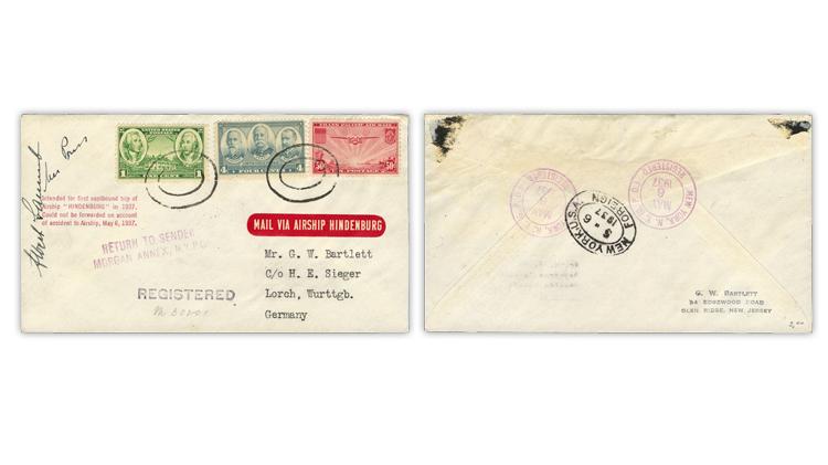 1937-hindenburg-return-flight-registered-cover