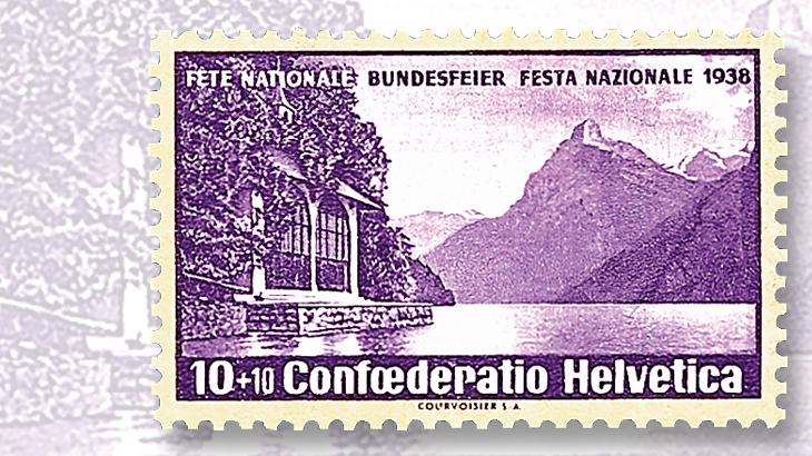 1938-10-centime-plus-10c-pro-patria-semipostal-stamp