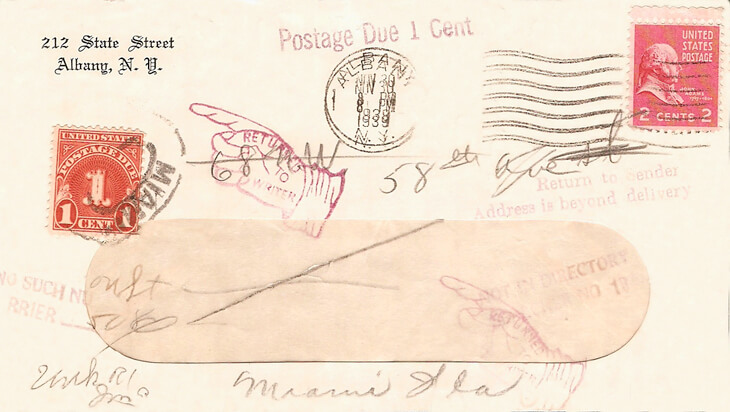 1939-postage-due-cover-albany-new-york-miami