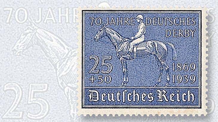 1939-semipostal-70th-german-derby