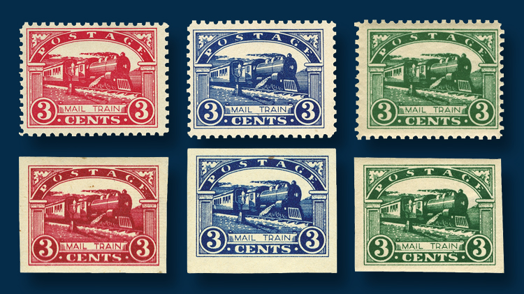 How many 3 cent stamps are in a dozen